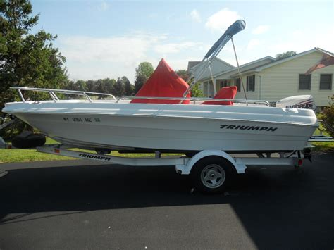 triumph boats 190 bay for sale 2008 triumph 190 bay the hull truth boating and