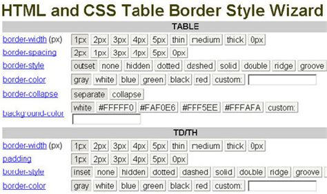 table layout css generator 25 best free css generator designmaz