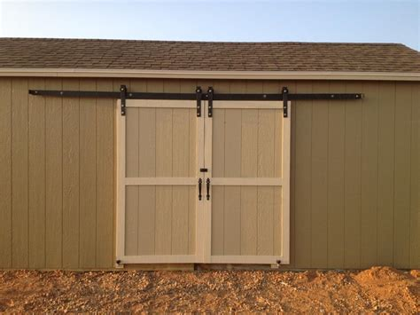 exterior door for garage build your exterior barn doors with sliding