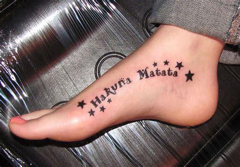 hakuna matata tattoo 25 gorgeous hakuna matata body tattoo designs hdpixels