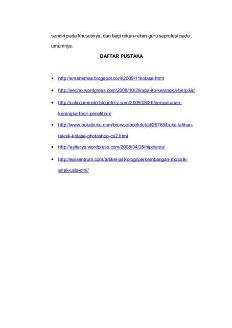 Buku Panduan Menulis Ptk Dan Karya Tulis Ilmiah Untuk Guru Fita N Pr contoh daftar pustaka karya ilmiah bahasa indonesia contoh l