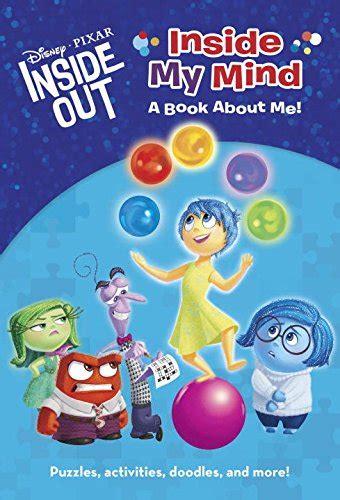 inside outside books disney pixar inside out books for