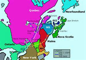 map canada east coast east coast map canada