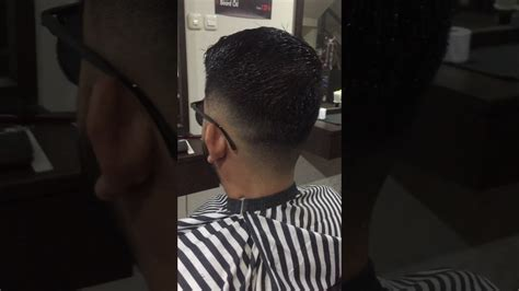 model rambut fade youtube