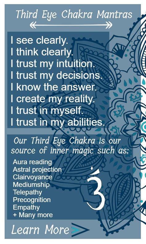 eye chakra  psychic chakra spirit chakra