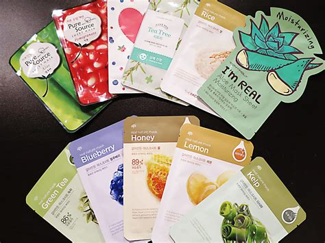 korea mask sheet k cosmetic favourites the sheet mask miss fii