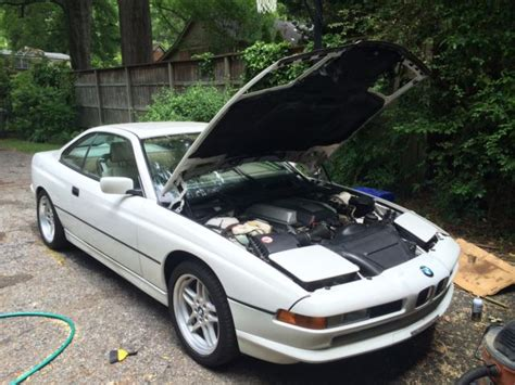 old car manuals online 1994 bmw 3 series electronic toll collection bmw 8 series coupe 1994 white for sale wbaef6328rcc89113 1994 bmw 840ci 8 series coupe with