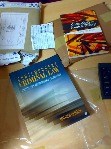 criminology the books look at the new books