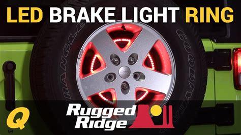 3rd brake light led ring rugged ridge 3rd brake light led ring for jeep wrangler jk