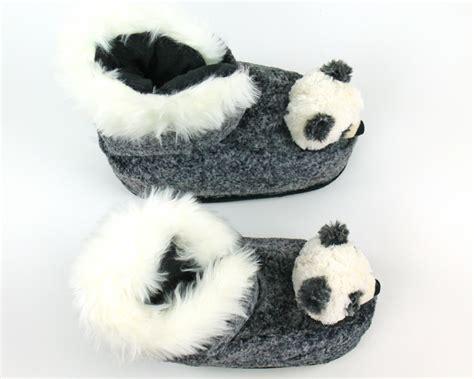 panda slipper socks panda slipper boots panda slippers animal slippers