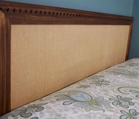 simple wood headboard remodelaholic 2 hour easy headboard no tools required