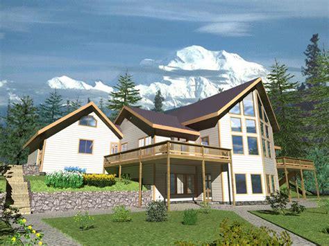 House Plans Modern Mountain Home Frame House Plans 17567 A Frame Mountain House Plans