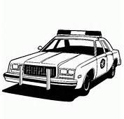 Dibujo De Coches Para Colorear Coche Policia  Dibujos