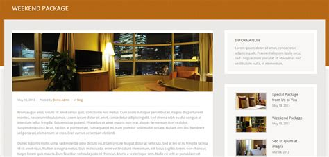 single post page template grand hotel premium responsive theme free demo
