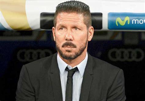 diego simeone hairstyle la liga atletico madrid coach diego simeone handed eight