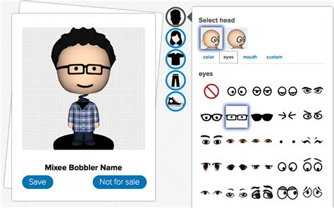 bobblehead yourself mixee bobblers 3d printed bobbleheads collect yourself