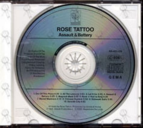 rose tattoo assault and battery album cd rare records