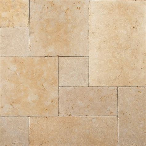 beltile jerusalem gold tumbled pattern limestone tile 8x16 8x8 16x16 and 16x24 beltile tile