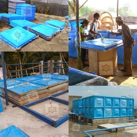 Tangki Panel Fiber Roof Tank Panel Penungan Air pembuatan tempat sah fiber tangki fiber dan waterpark