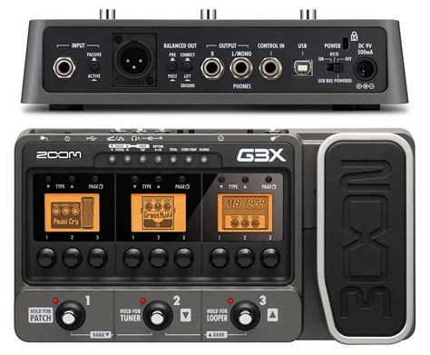 Multi Efek Zoom G3x 5 best multi effect pedals for guitar equipboard 174