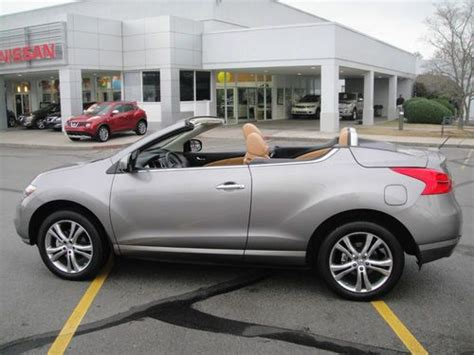 nissan awd convertible sell used 2011 nissan murano awd crosscabriolet