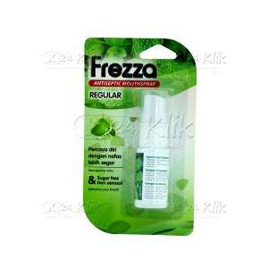 Frezza Spray Penyegar Mulut jual beli frezza spray regular k24klik