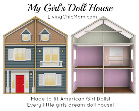 my american doll house my girl s doll house review the perfect american girl doll house living chic mom
