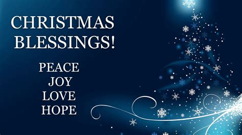 images of christmas blessings christmas blessings peace joy and love youtube