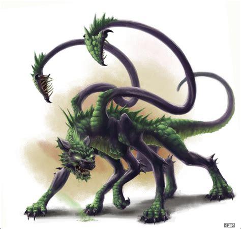 Half Of Lower Is Beast By Hikaru Ichidou half displacer beast by spipes on deviantart
