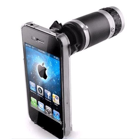 Murah 6x Zoom Telescope For 2 Pengiriman Cepat 6x optical magnifier magnification zoom lens telescope for iphone 4 4g 4s