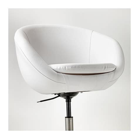 sedia pc ikea skruvsta swivel chair idhult white ikea
