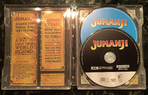 jumanji movie vs book jumanji blu ray steelbook hmv exclusive uk hi def