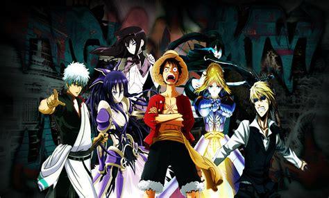 wallpaper anime crossover anime crossover by kaigasatoru on deviantart