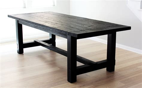 Black Wood Dining Tables The Most Awesome Dining Table Imperfection Design Milk
