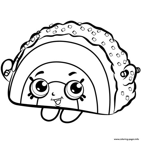 shopkins cake coloring pages rainbow bite cake shopkins season 1 coloring pages printable