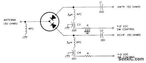 diode bridge tr switch diode tr switch switch control control circuit circuit diagram seekic