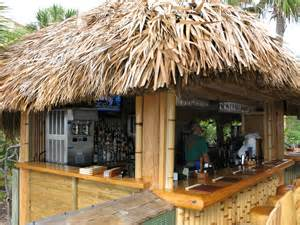 tiki hut roofing tiki bar roof roofing decoration
