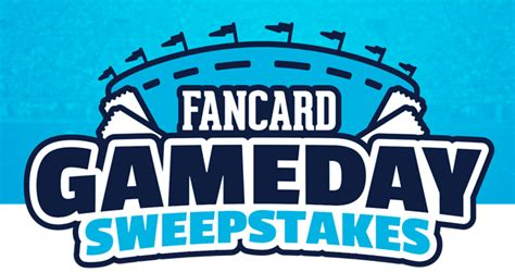 Football Sweepstakes 2017 - fancard gameday sweepstakes 2017 dates prizes more