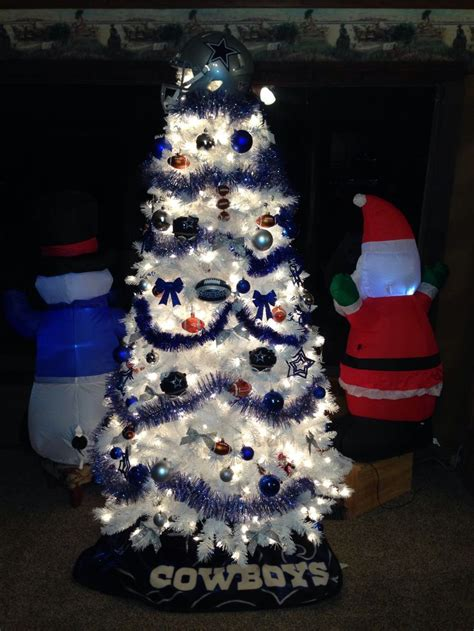 dallas cowboy christmas tree my dallas cowboys