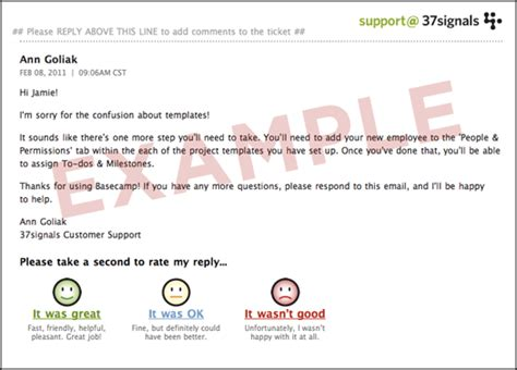 11 best photos of sle customer feedback email sle