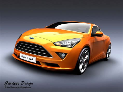 concept ford 2013 ford focus coupe concept is stunning