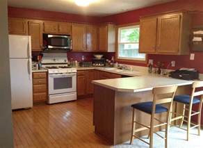 Paint Colors For Kitchen With Oak Cabinets Remarkable Kitchen Cabinet Paint Colors Combinations