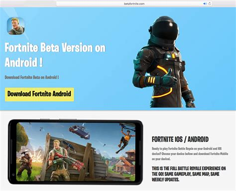 fortnite android beta fortnite is coming to android but malicious apps are