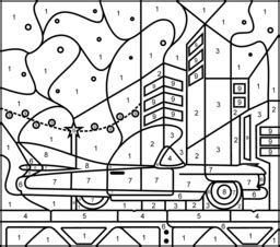 color by numbers coloring book for cars mens color by numbers cars coloring book color by numbers books for volume 1 books elvis car coloring page printables apps for