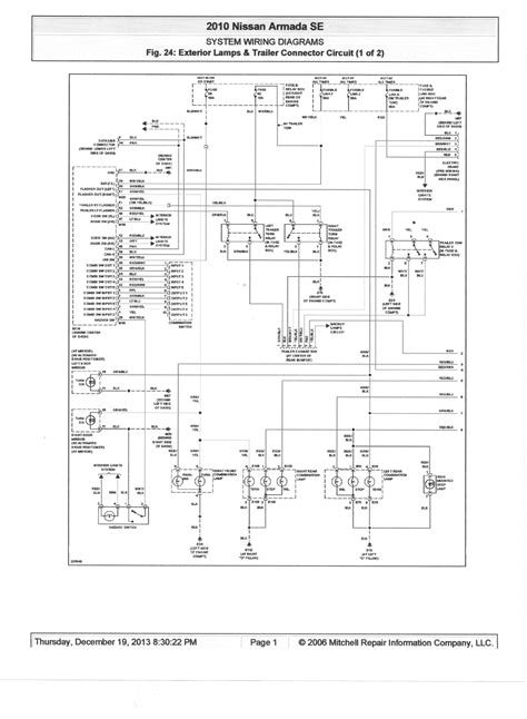 frontier trailer wiring diagram color code trailer