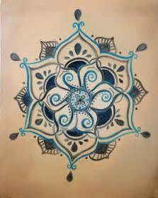 Lotus Henna Henna Budista Inspirado Lotus Pintura Por Shantiwinds En