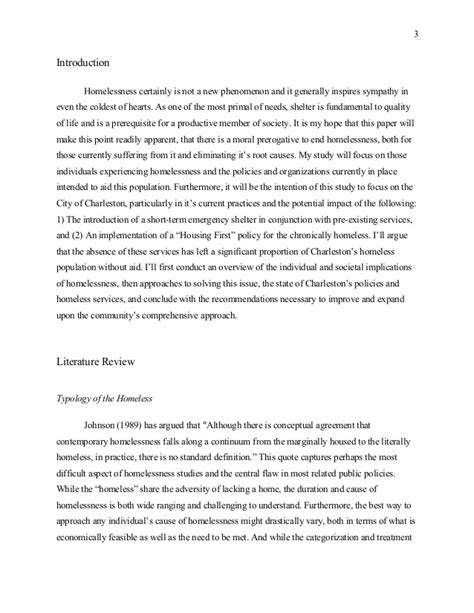 Homelessness Essay by Kirk Mcswain Bachelor S Essay Homelessness In The American
