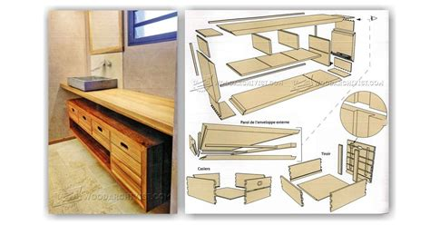 bathroom vanity design plans bathroom vanity plans 28 images bathroom vanity sink