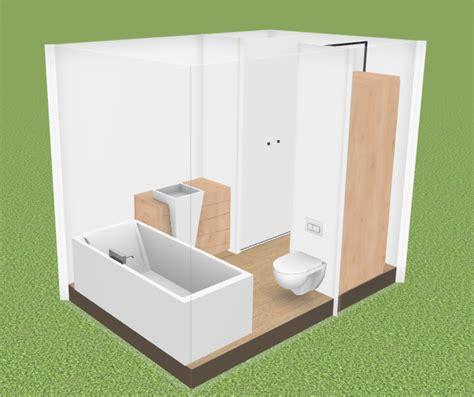 Salle De Bain De 6m2 4583 by Plan Plan Salle De Bain De 6m2 Exemple De Plan D