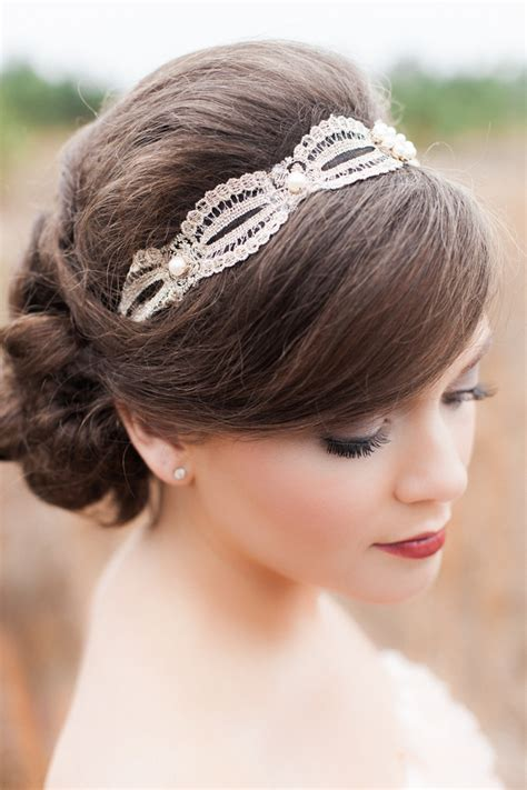 Vintage Wedding Hair Designs by Pomegranates And Berries Vintage Inspiration Rustic Folk